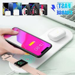 10W Qi Wireless Charger Dock Charging Station For Apple iWat