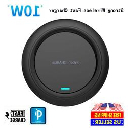 10W Qi Wireless Charger Pad Charging Dock Station for iPhone