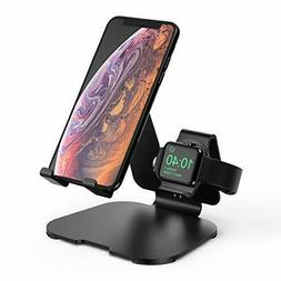 2 in 1 Aluminum Charging Station for Apple Watch Charger Sta