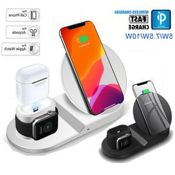 3 in 1 Wireless Charger Fast Charging Dock Station For iPhon