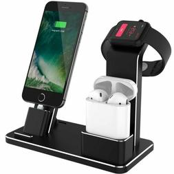 4 in 1 Charging Dock Station Stand Mount Holder for Apple iW