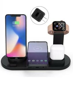 4 In 1 Qi Fast Wireless Universal Charging Station/Stand  4