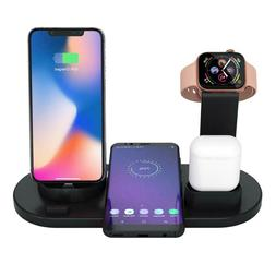 4-in-1 Universal Wireless Charging Dock Station USB-C, Micro