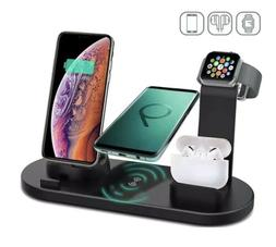 4 in 1 Wireless Stand-Dock Charging Station (Ports Compatibl