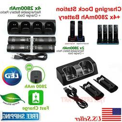 charger charging dock station 2800mah battery