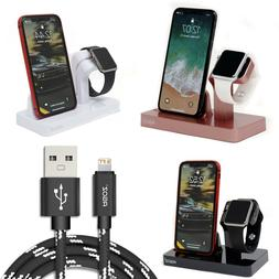 Charging Dock Station +FAST USB Charger Cable for Apple Watc