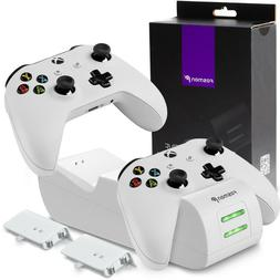Controller Charge Dock Station Battery Pack + Wall Charger X