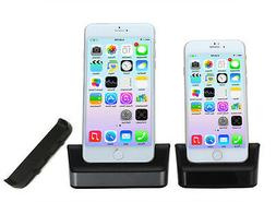 Desktop USB Dock Station Cradle Holder Phone Charger For iPh