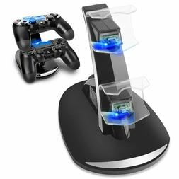 Dual USB Charger LED Station Dock Fast Charging Stand For So