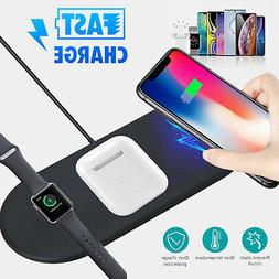 3 In1 QI Wireless Charger Charging Dock Station For Apple Ai