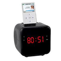 "iPhone/iPod 1.2""Docking Station With Am/Fm Radio And Alarm"