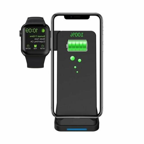 2 in Fast Qi Wireless Charge Station iWatch