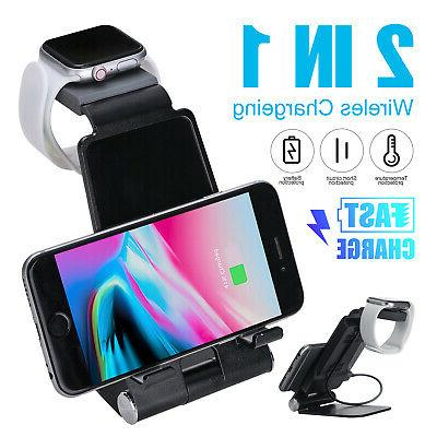2 in 1 wireless charging pad fast