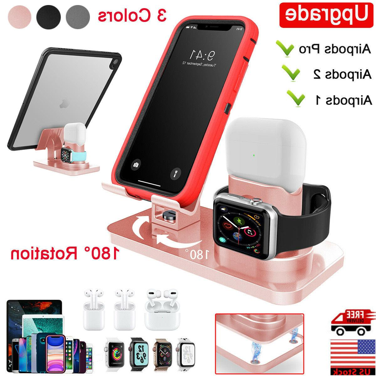 3in1 charging dock station holder stand