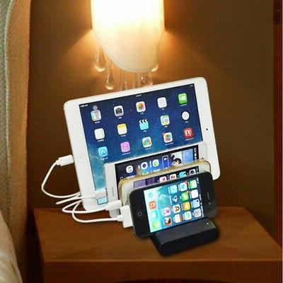 4 Port USB Stand Organizer Cell