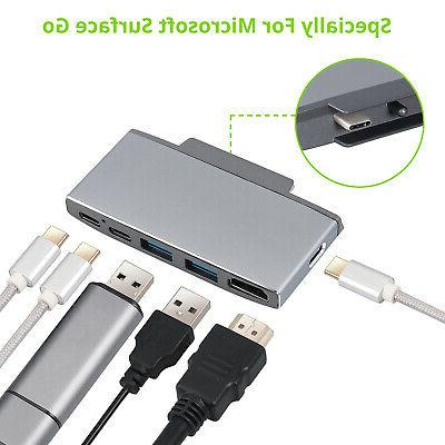 6 in 1 Surface USB C HDMI Adapter Station HDMI Adapter