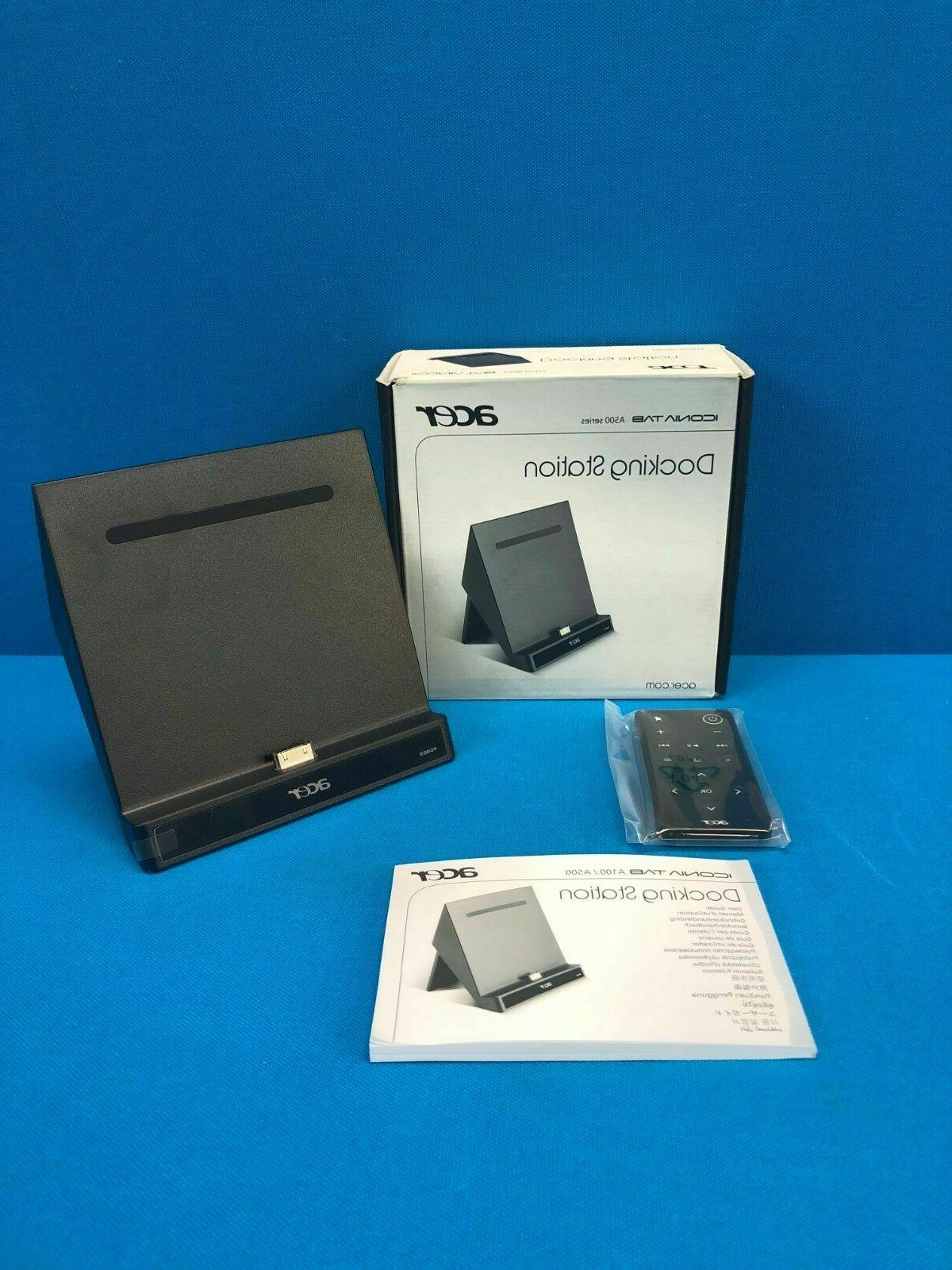 adt002 iconia tab a500 series docking station