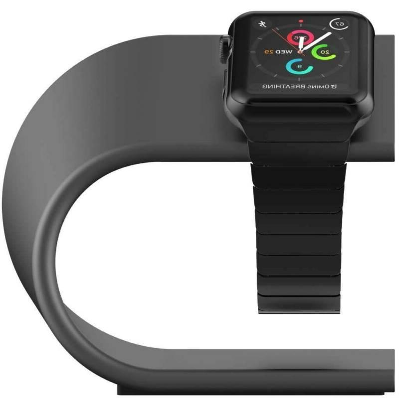 aluminum apple watch charging dock stand station