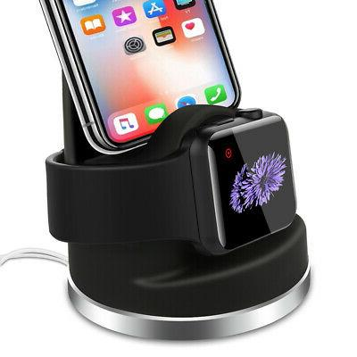 apple watch iphone airpods charging dock
