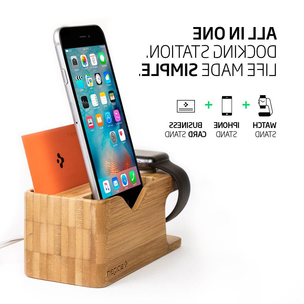 Apple Watch and Stand Charging Dock Mount