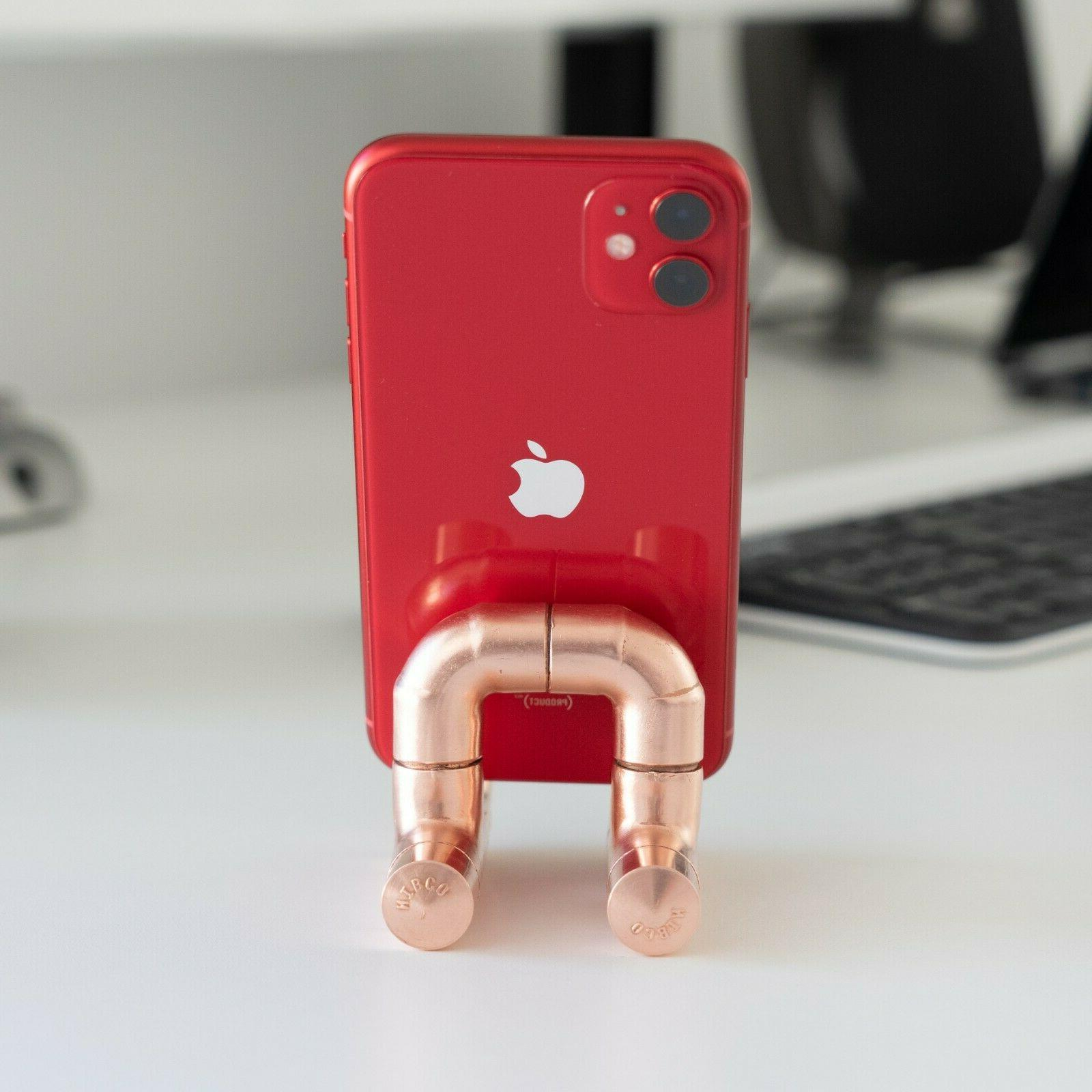 Copper Rose Gold Cell Docking Accessory