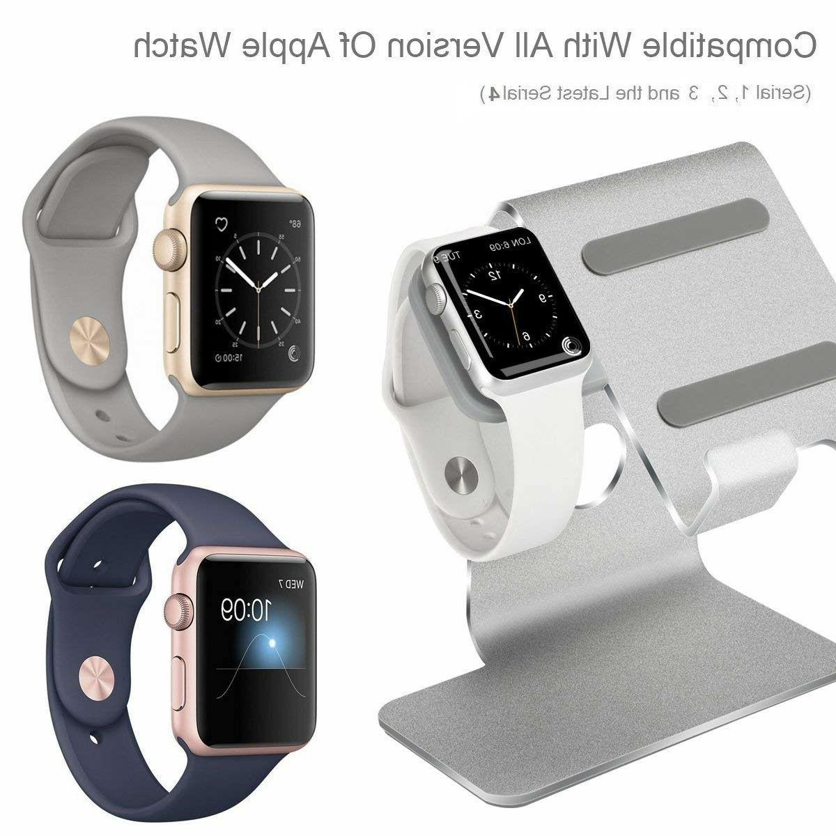 iPHONE IPAD Watch in 1 station desk Holder