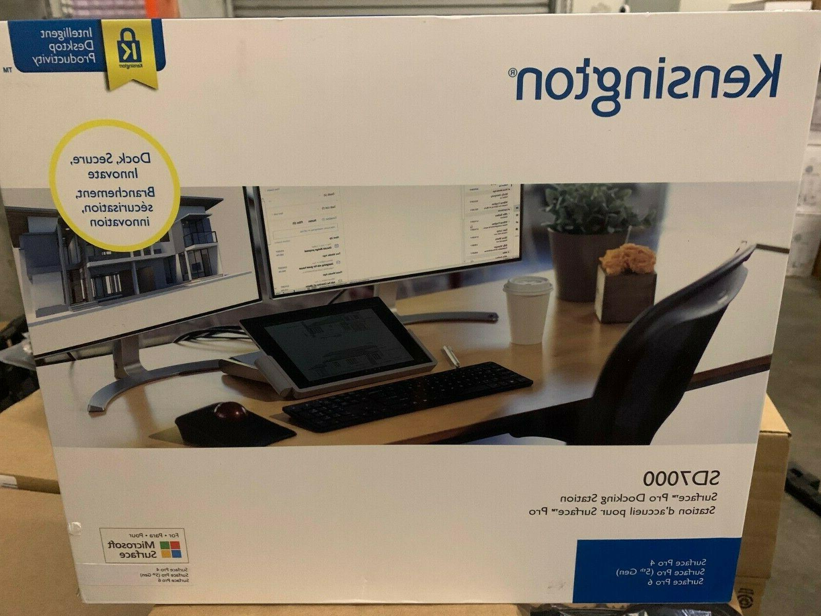 new sd7000 surface pro docking station free