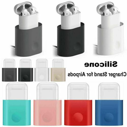 apple airpods silicone charging dock station