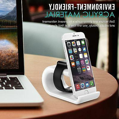2in1 Portable charging Station dock -Apple iWatch tablet