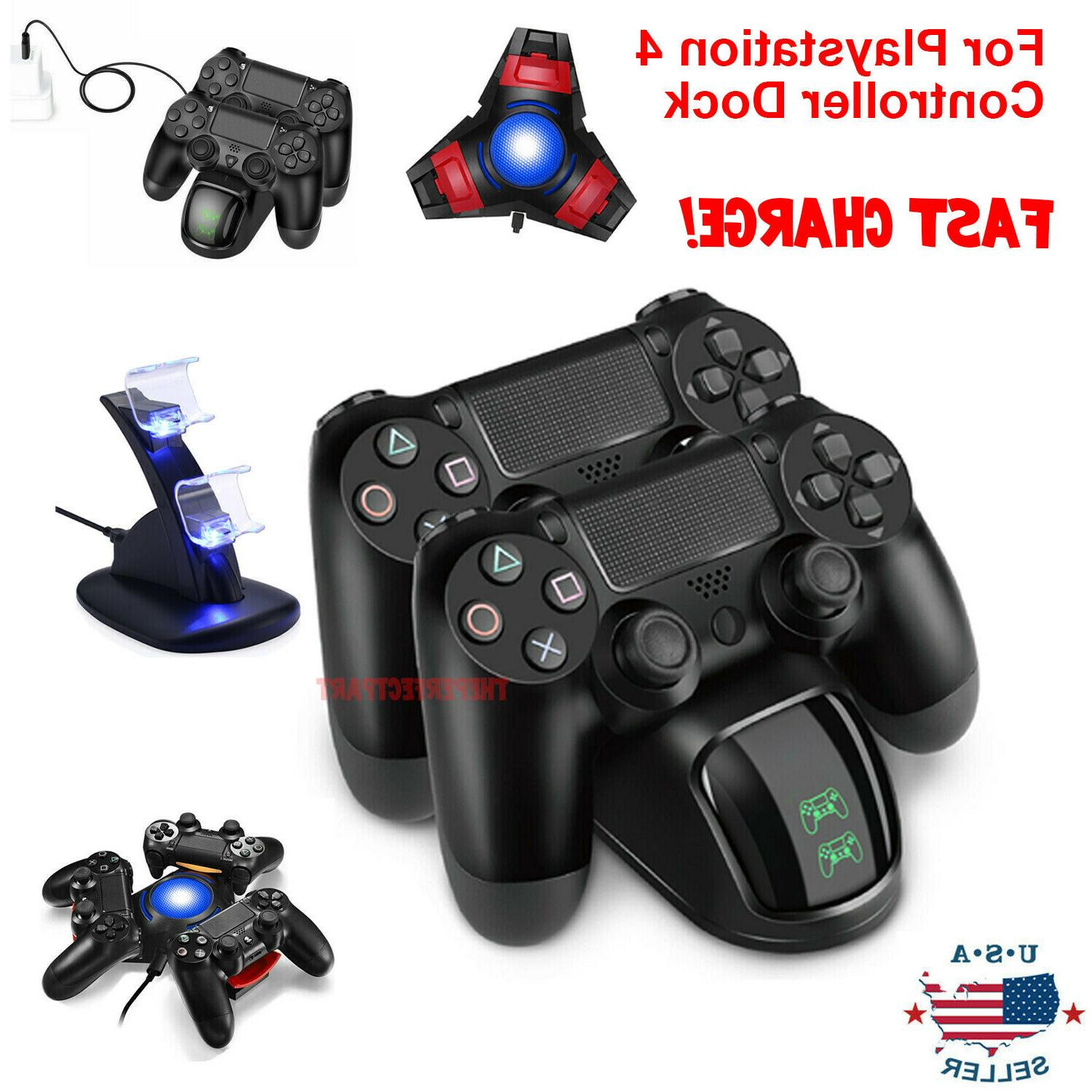 ps4 playstation4 controller dual usb charger