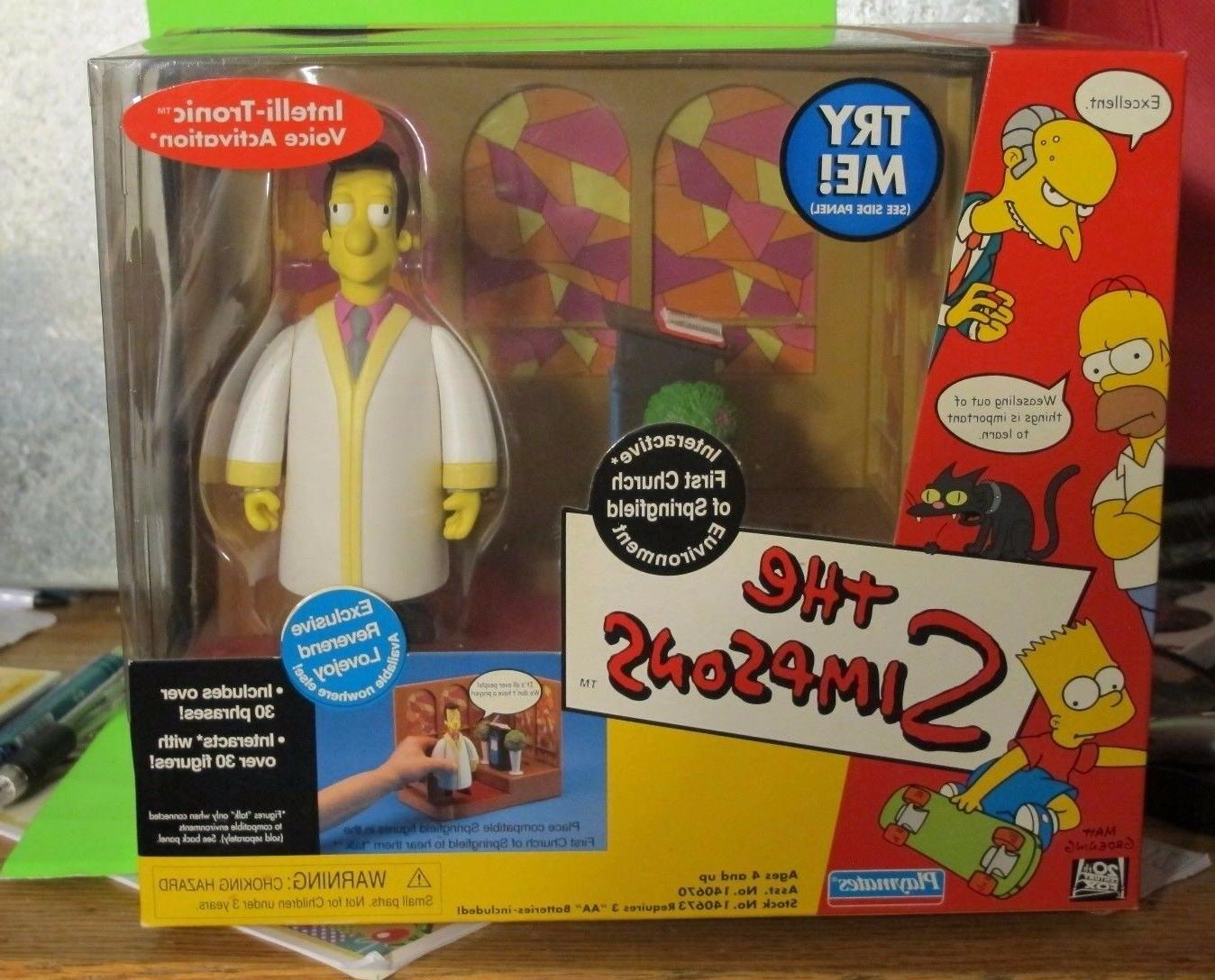 simpsons wos interactive dock station minister timothy
