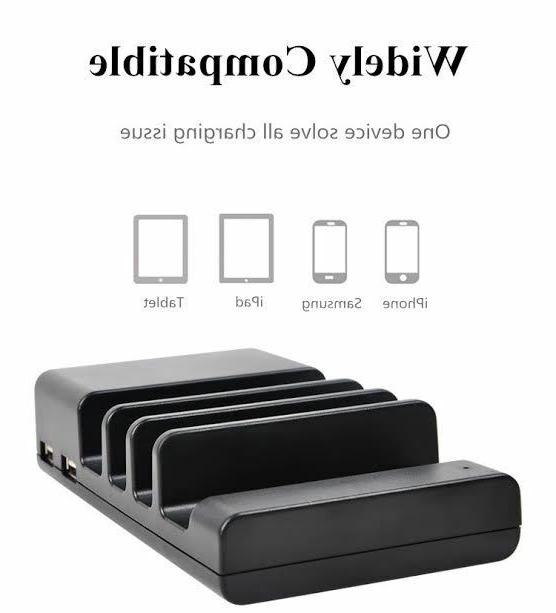 4-Port Dock Charger Stand