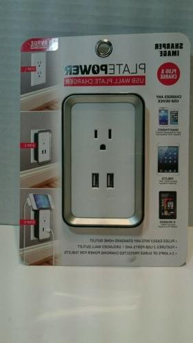 usb port electric wall charger dock station