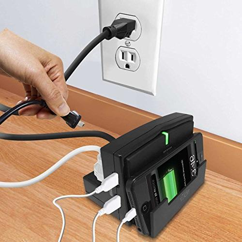 Hype Volt Cell Mobile & Tablet Charging Docking Station w/USB Ports