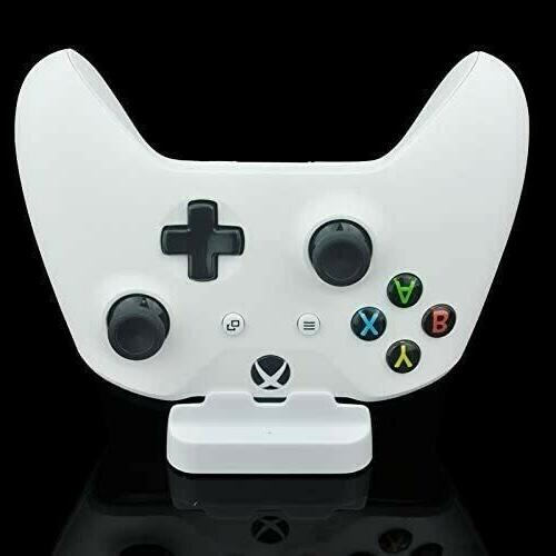 WHITE XBOX ONE Charging Dock Station Controller Charger + Extra Battery Pack