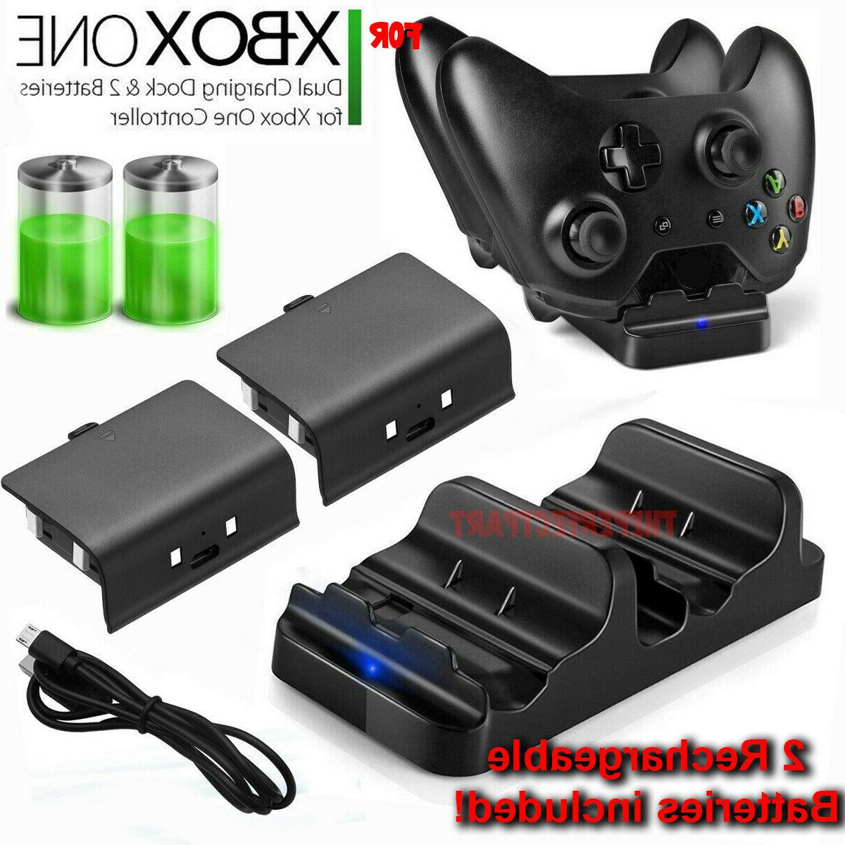 xbox one dual charging dock station controller
