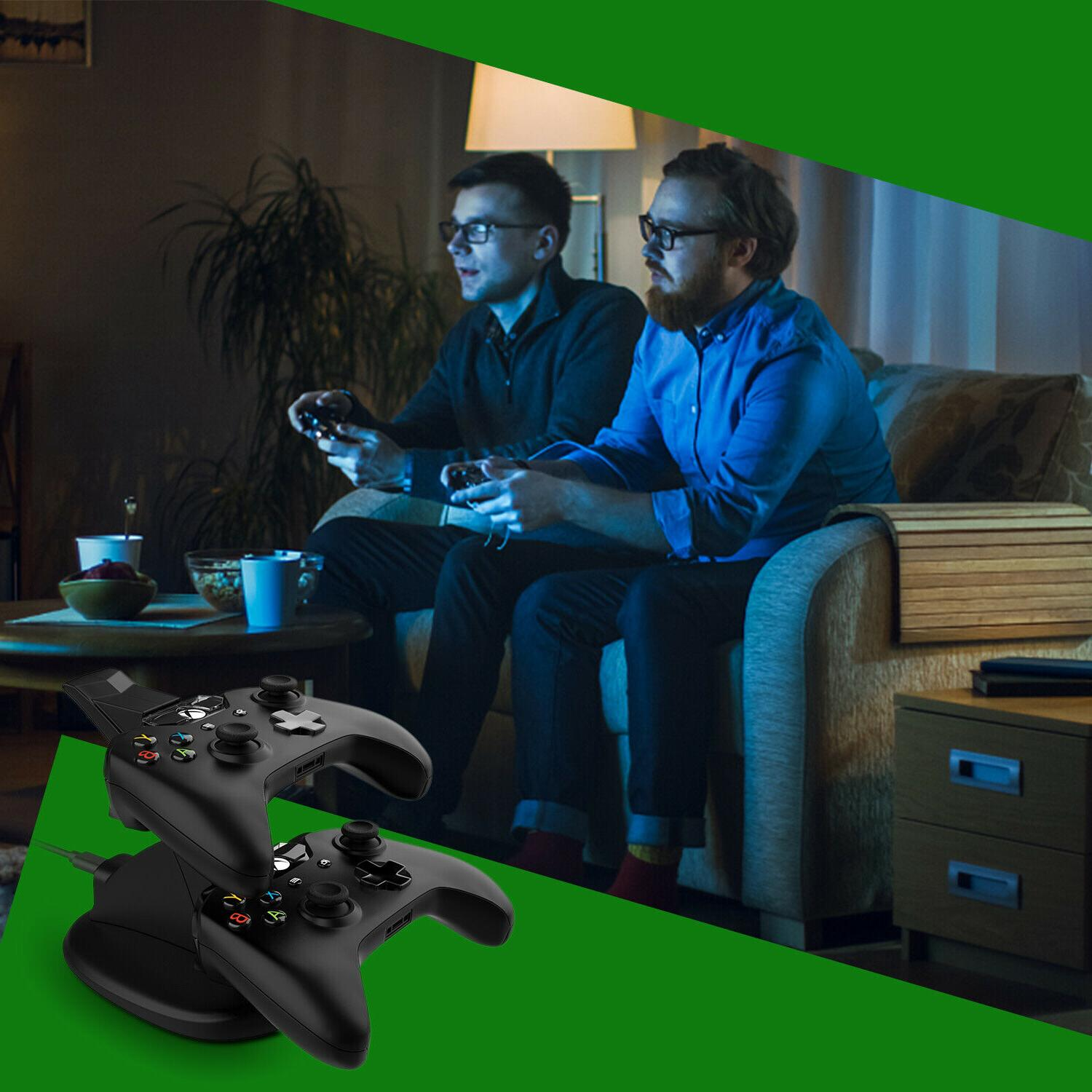 For Xbox One / S Controller Dual Dock