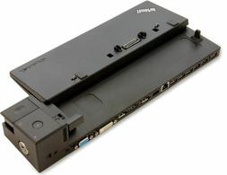 NEW Lenovo Thinkpad Ultra Docking Station + 90W 2 Prong AC A