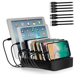 NEXGADGET USB Charging Station Dock for Multiple Devices, 8-