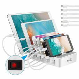ALLCACA USB Charging Station for Multiple Devices - Fast Cha