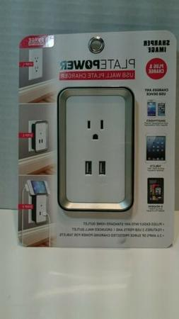 USB Port Electric Wall Charger Dock Station Socket Power Out