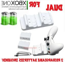 For XBOX ONE Controller Dual Charging Dock Station Charger W