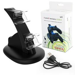 For Xbox One / One X / One S Controller Dual Charger Dock St